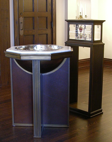 Font, Sacred Heart School Chapel