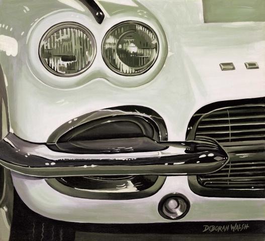 White Corvette