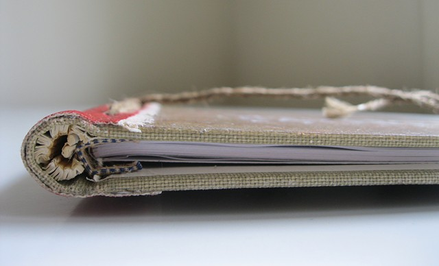 Artist Book: Artifact - Detail 2