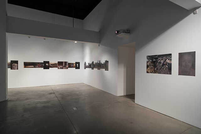 Corpus installation at Punto de Contacto/Point of Contact Gallery