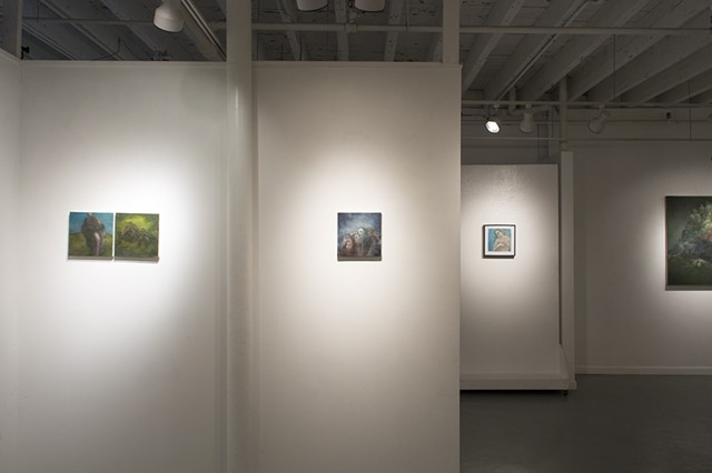 Stove Factory Gallery, installation view, 2015.