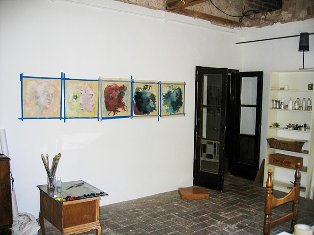 Can Serrat, Barcelona (studio, works in progress)
