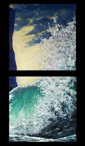 White Water (Diptych)