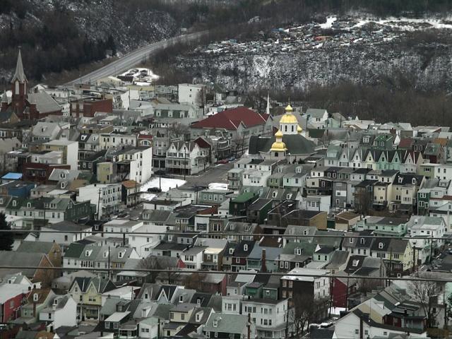 Heights View, Shenandoah, Pennsylvania.