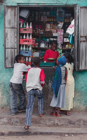 Candy Store, Harar, Ethiopia.