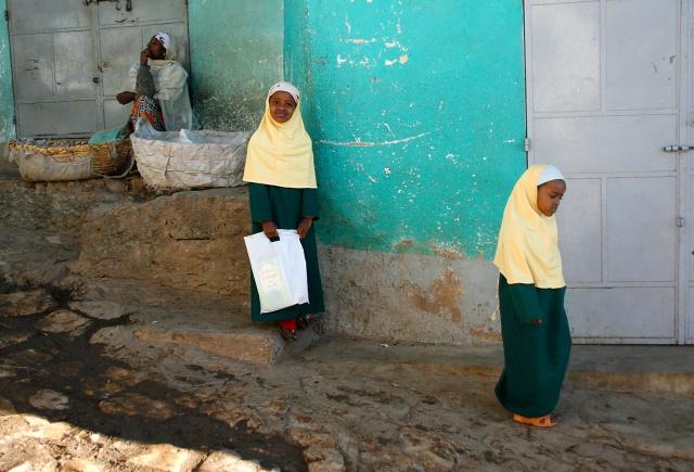 School Girls, Harar, Ethiopia.