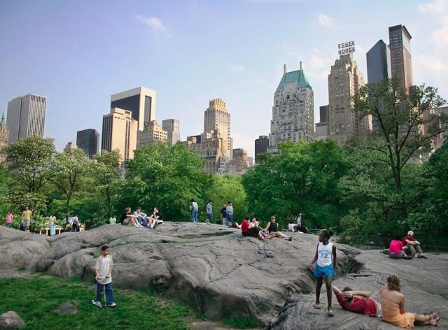 Central Park, New York.
