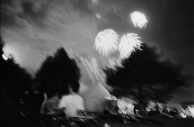 Fireworks, Salt Lake City, Utah.