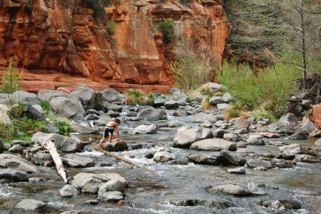 Slide Rock State Park, Arizona.