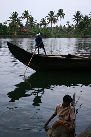 Fisherman, Kerala, India.