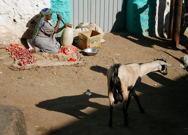 Market Scene, Harar, Ethiopia.