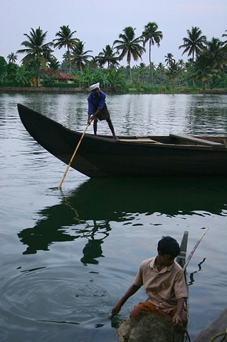 Fisherman, Kerala, India.