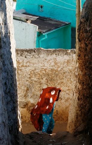 Alley, Harar, Ethiopia.