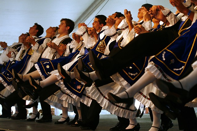 Youth perform at the annual Greek Festival in Salt Lake City, Utah.