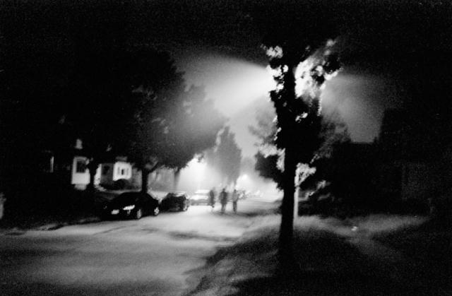 Night Scene, Rochester, New York.