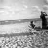 Beach Scene, Florida.