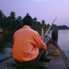 River Boat, Kerala, India.