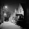 Snowy Night, Upstate New York.
