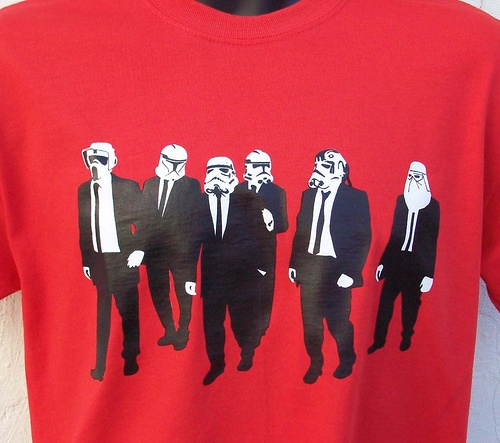 reservoir troopers t-shirts!!!! RED !