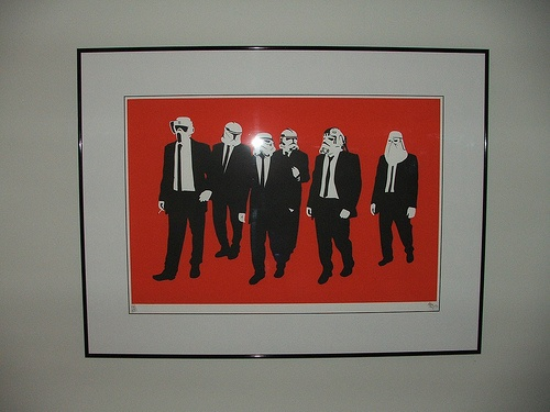 RESERVOIR TROOPERS FRAMED