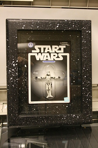 START WARS FRAMED