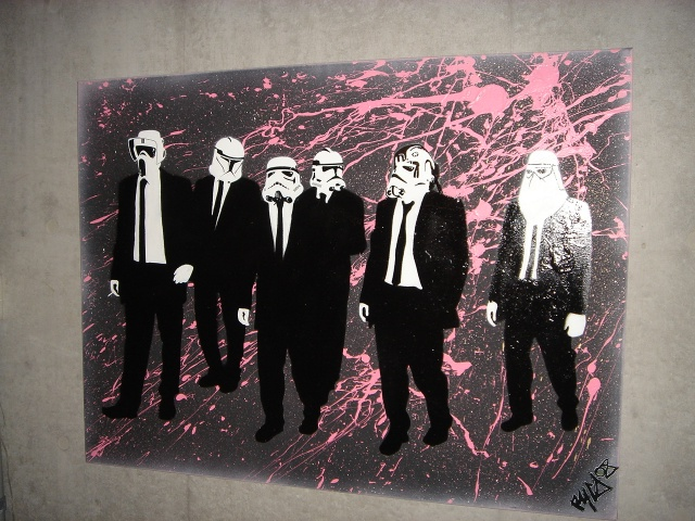 RESERVOIR TROOPERS CANVAS
