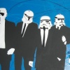 RESERVOIR TROOPERS CANVAS (BLUE SPLAT)