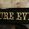 pure evil gallery sign/collab
