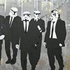 RESERVOIR TROOPERS - GOLD,GREY,CHROME