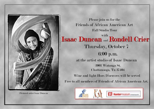 Isaac Duncan III Studio Visit: Friends of African American Art