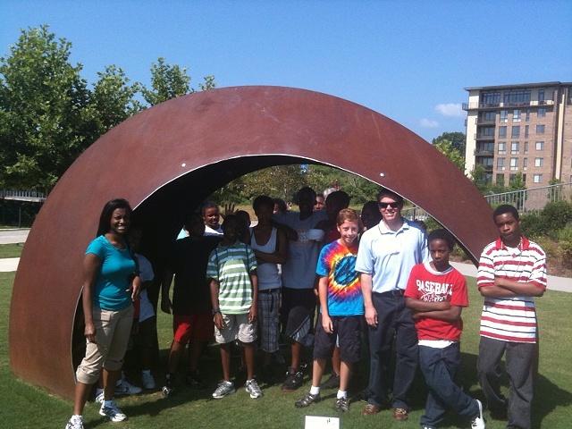 Public Art Chattanooga Urban League Student Tour
