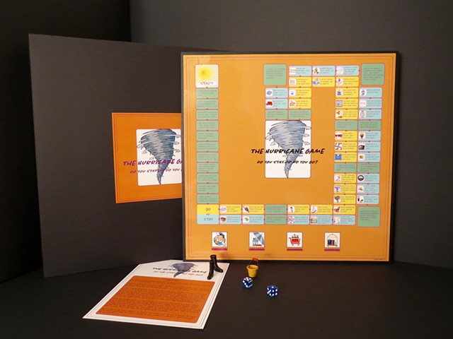 Experience a hurricane from a distance.  A fun game for the whole family.