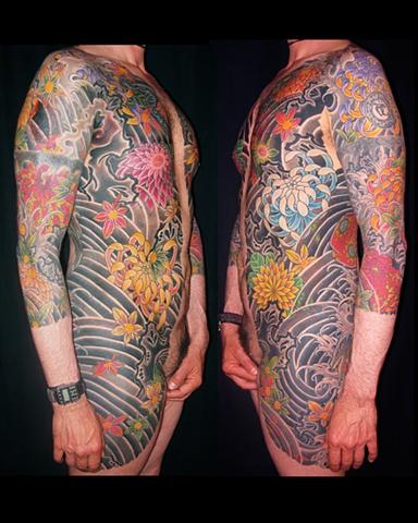 Oniwaka Bodysuit tattoo / Tatuagem de Oniwaka ( corpo inteiro)