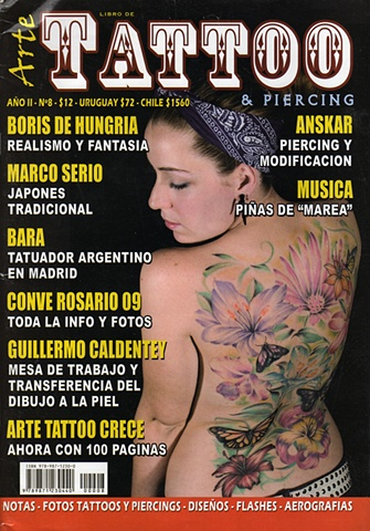 Marco Serio's interview in Arte Tattoo.