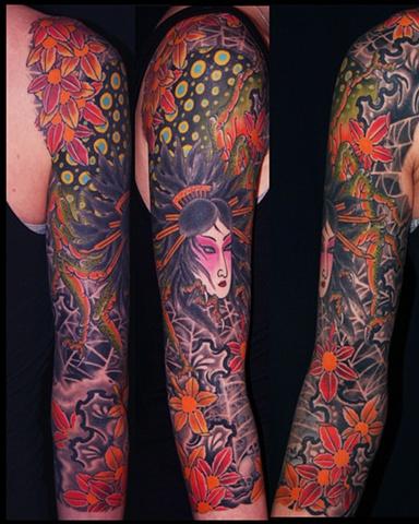 Spider Woman tattoo / Tatuagem de Mulher Aranha