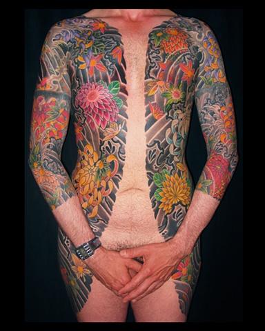 Oniwaka Bodysuit tattoo