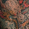 Dragon Backpiece Tattoo /  Tatuagem Dragao