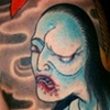 Oiwa Ghost Tattoo / Tatuagem do Fantasma de Oiwa