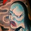 Oiwa Ghost Tattoo / Tatuagem do Fantasma de Oiwa