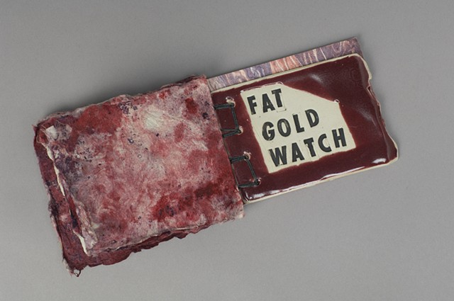 Morning Song  ceramic page  FAT GOLD WATCH