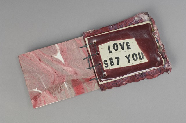 Morning Song  ceramic page  LOVE SET YOU