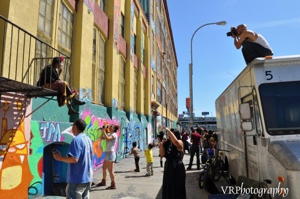 The Artist Process - Documentary Filming @ 5 ptz, LIC, Queens  Photo by: Victoria Holt