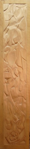 Untitled Wood Relief Study #1