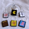 I LOVE the 80&#39;s Wine Glass Charms 