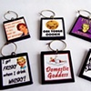 SASSY LOL Vintage Ladies Wine Charms