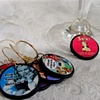 MOXIE Girl Retro Wine Glass Charms