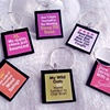 SASSY Sayings Wine Charms
