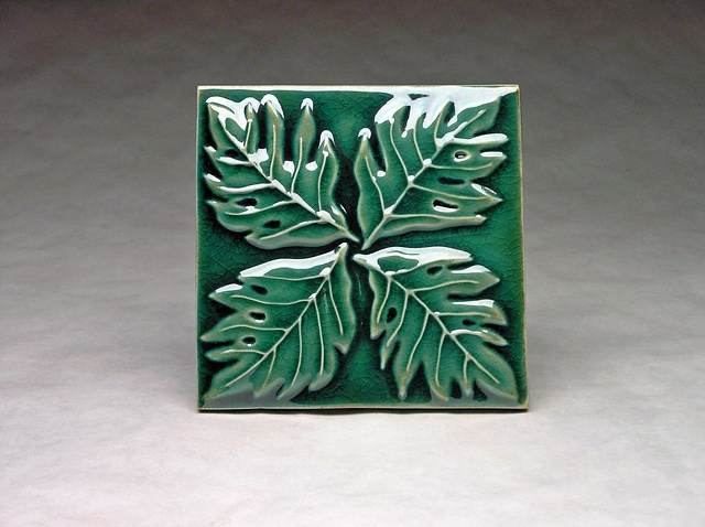 Swiss Cheese Leaf 6x6
