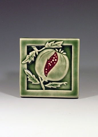 Pomegranate tile.