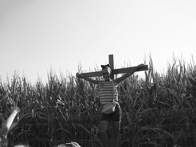 Kid crucifix street photography matt ivey photography